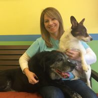 Owner/Operator: Suzanne Dukes, March 2008 (pictured with her dogs, Casey and Jackson)