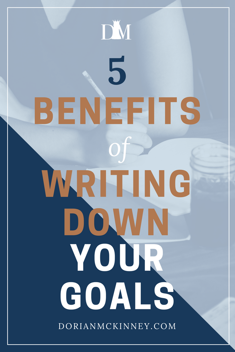 Goal-setting can be hit and miss, but in this blog post I'm sharing some benefits of writing down your goals and how it might make it easier to reach them.