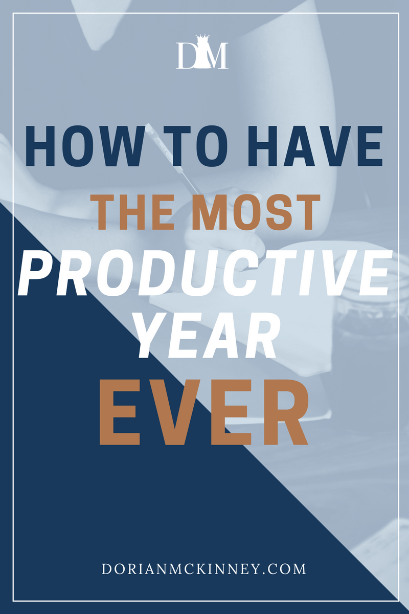 Want this year to be your most profitable and productive year yet? Sometimes you need a little more structure and accountability to make things happen. Here is how to have the most productive year ever.