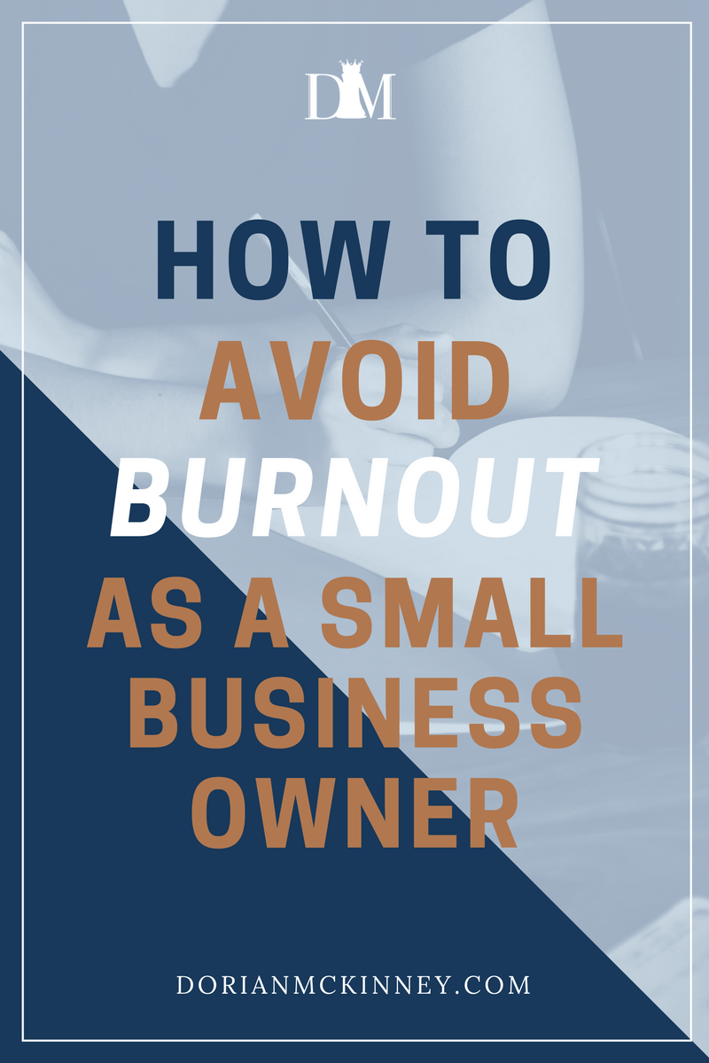 Running a small business can be very stressful. By following these tips, business owners can avoid burnout while running a successful business.