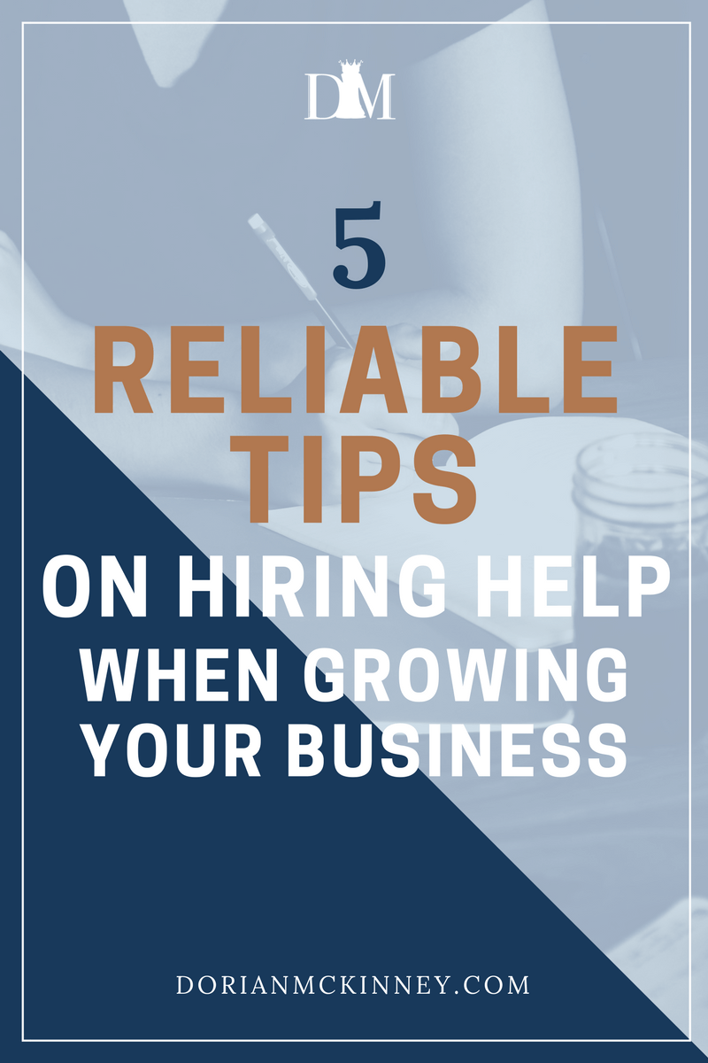 Hiring is one of the most important things an entrepreneur will do to grow their company. The last thing you want to do when hiring is settle. Here are my 5 reliable tips on hiring a team while growing your business.