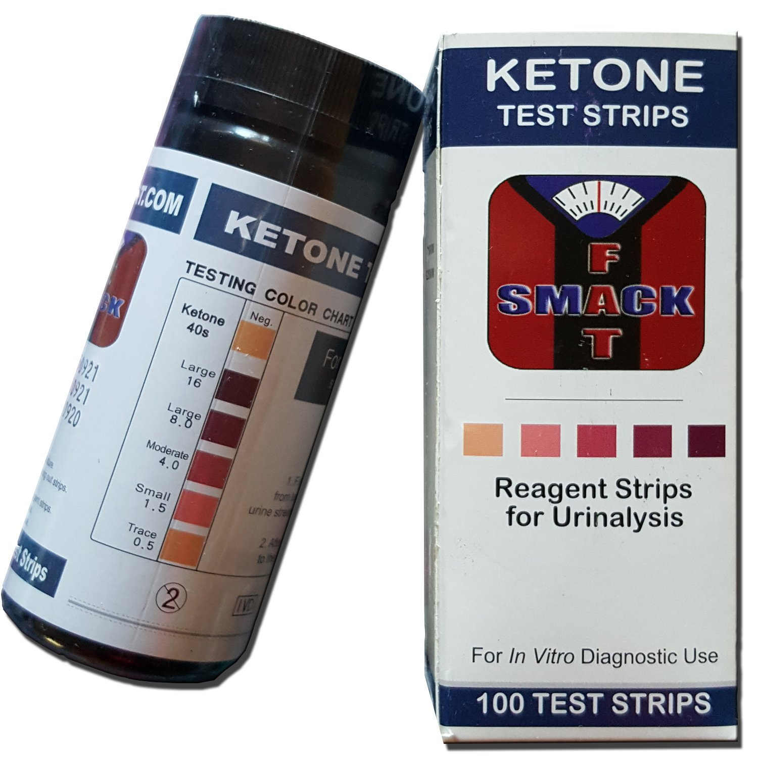 urine strips to test for ketone levels