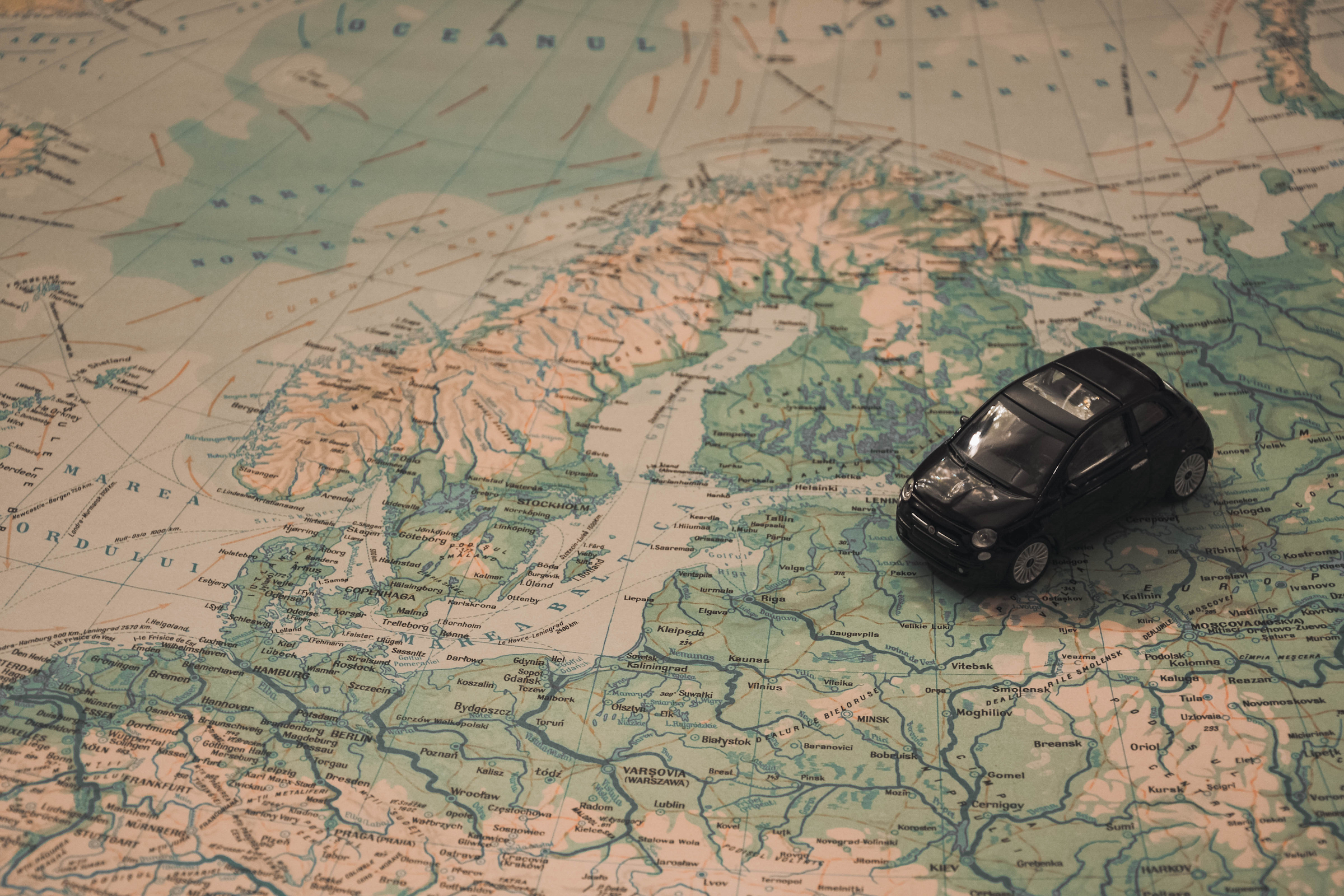 map-car-travel