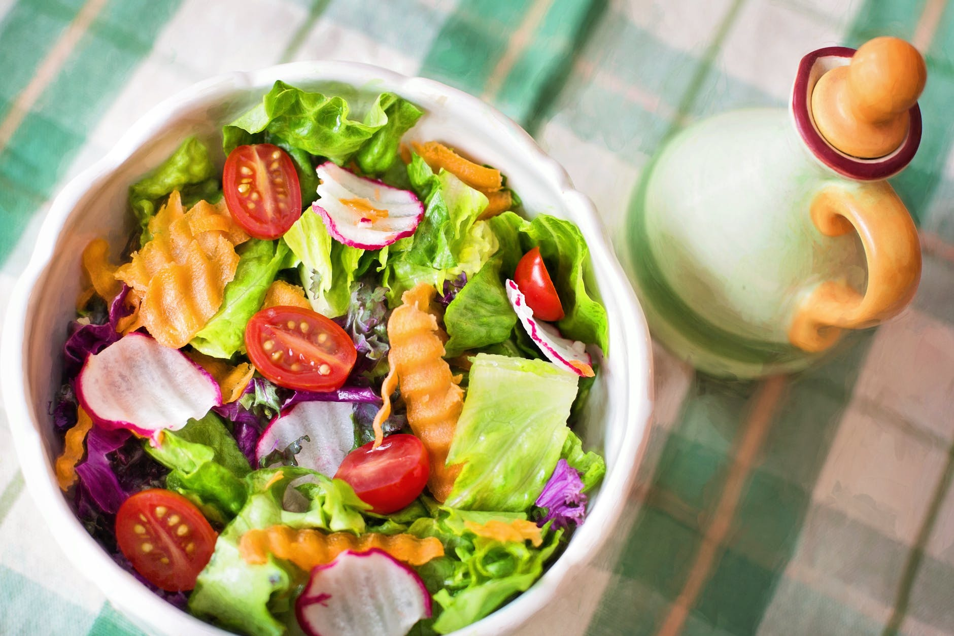 salad homemade dressing