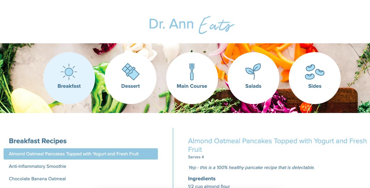 Dr. Ann Recipes
