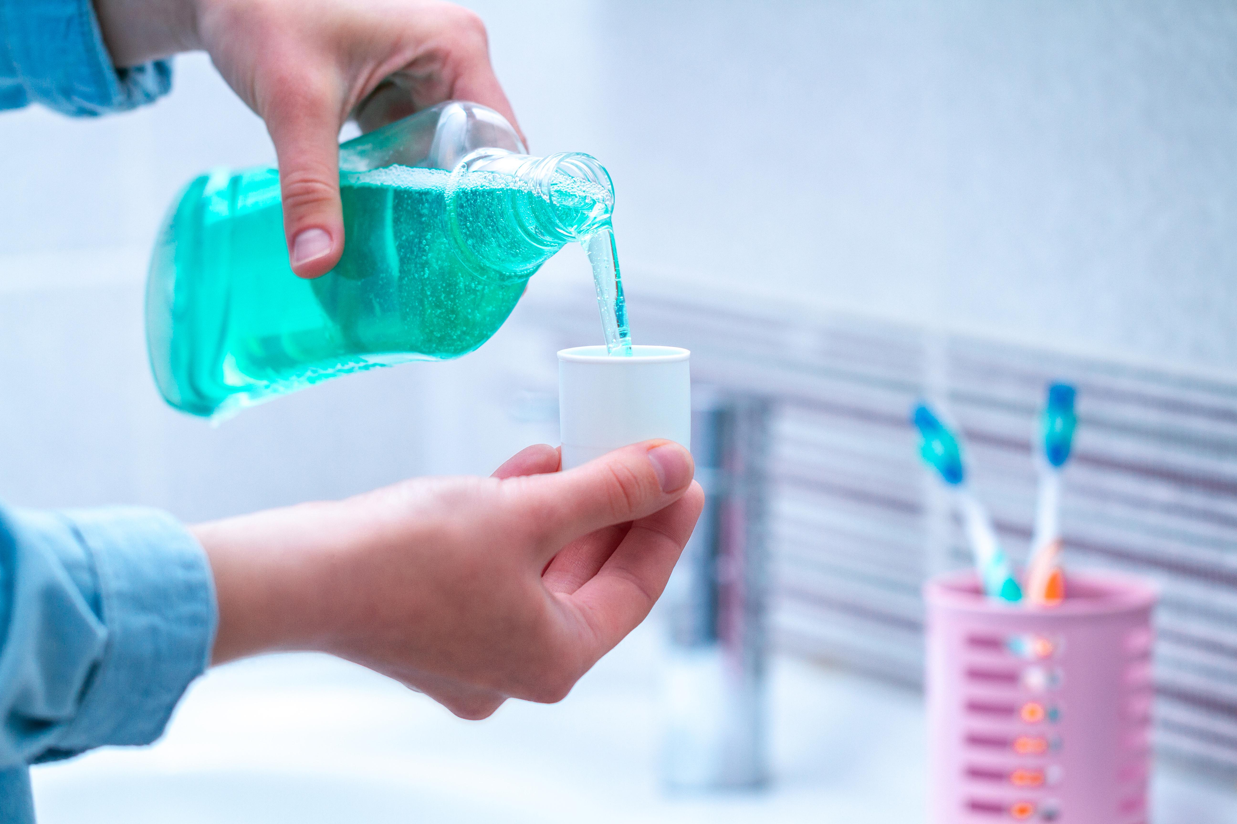 mouthwash heart health