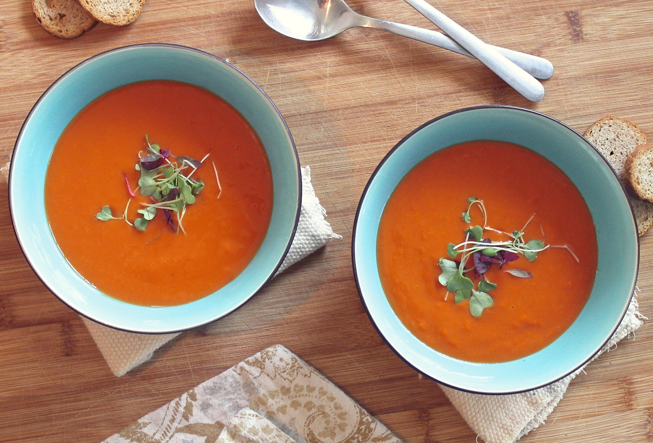 soup curried tomato and carrot