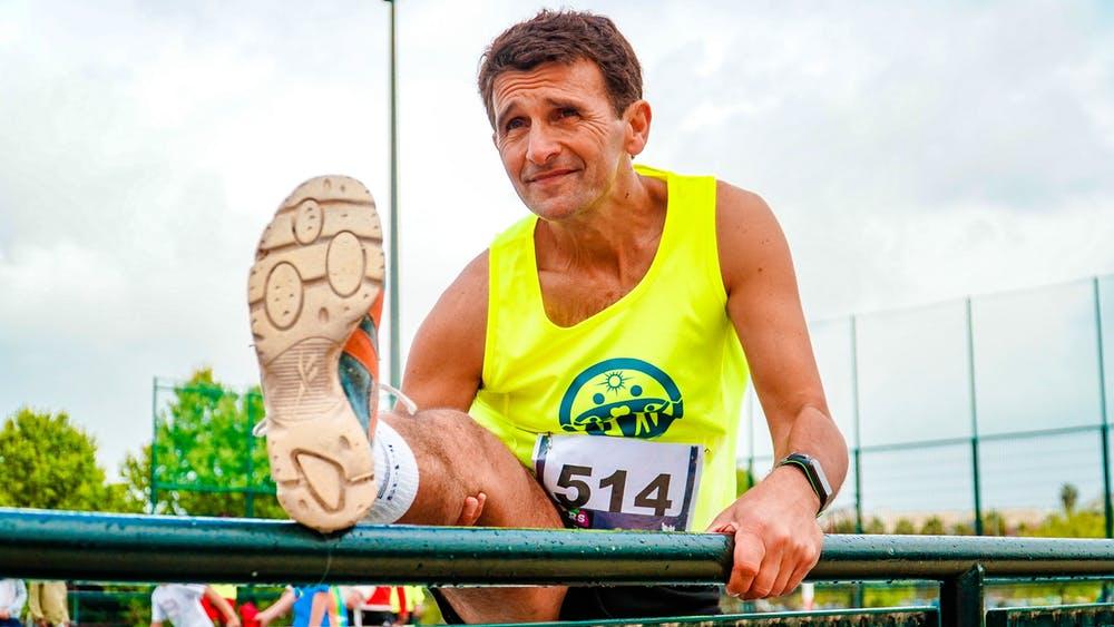 movement man older run exercise