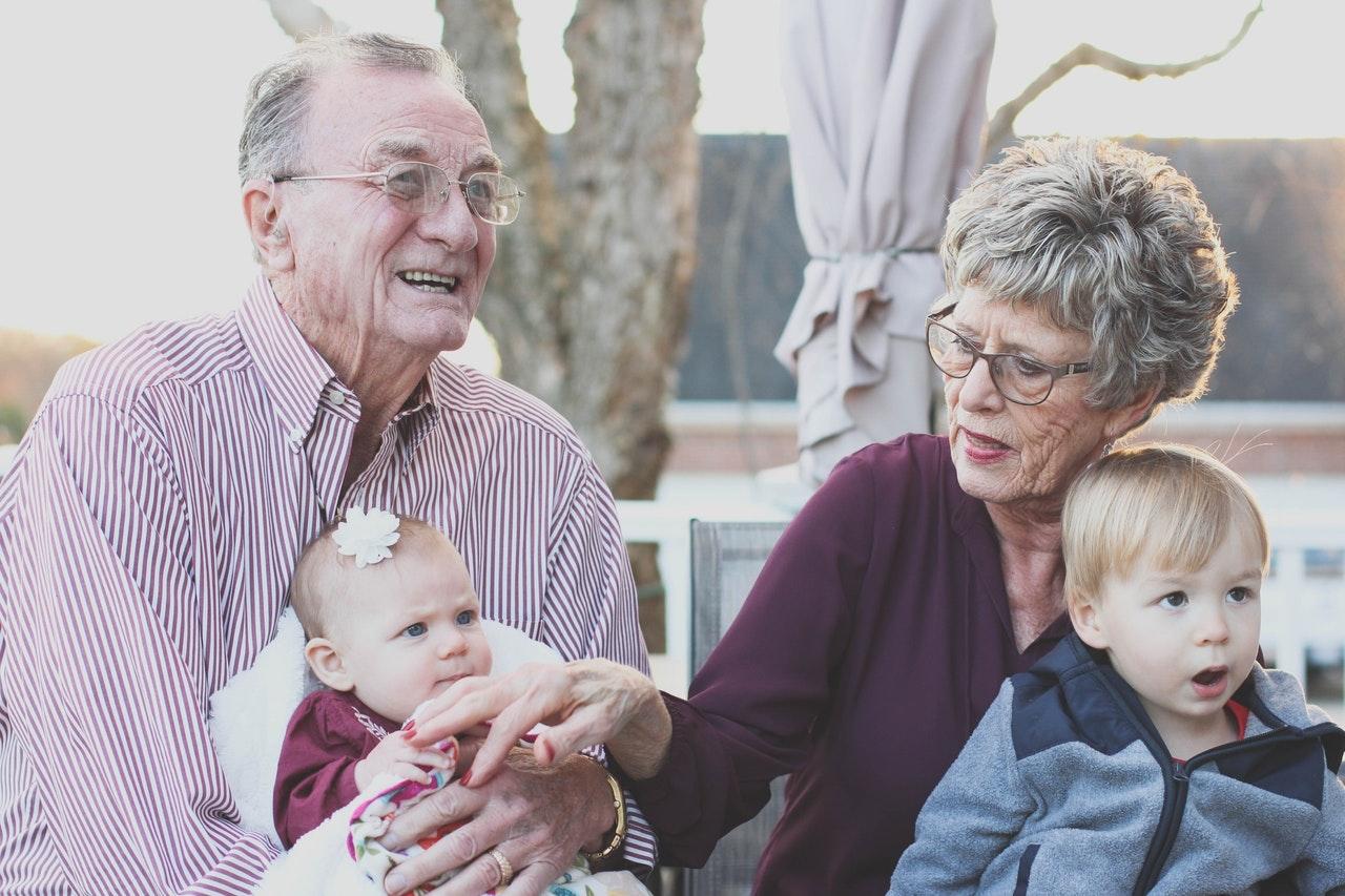 grandparents elderly brain old