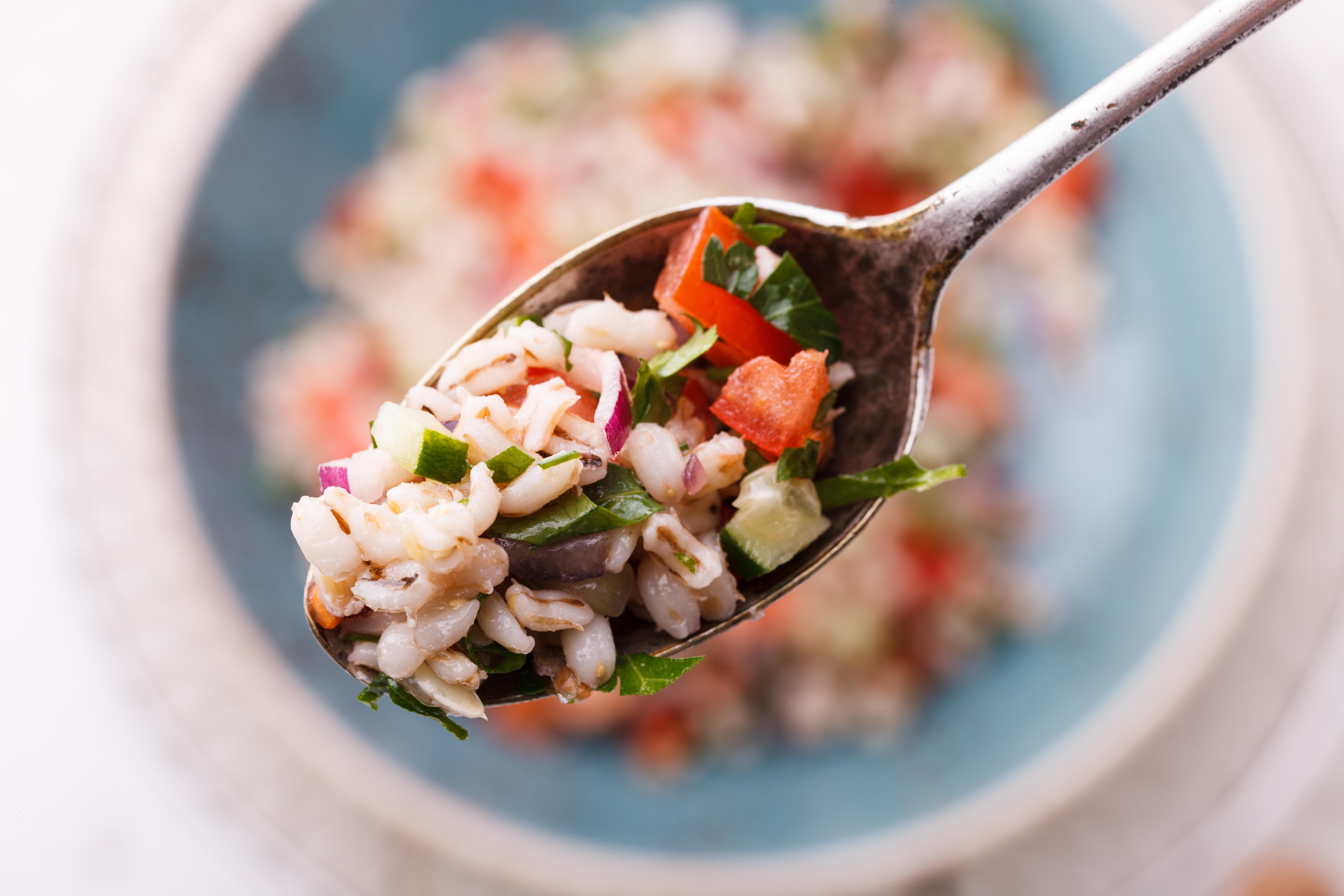 barley bean salad farro anti inflammatory