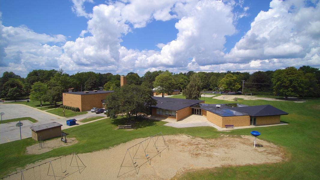 Drone Photo Midland MI