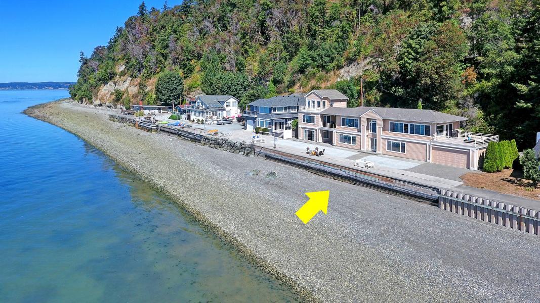 Drone Photo Camano Island WA