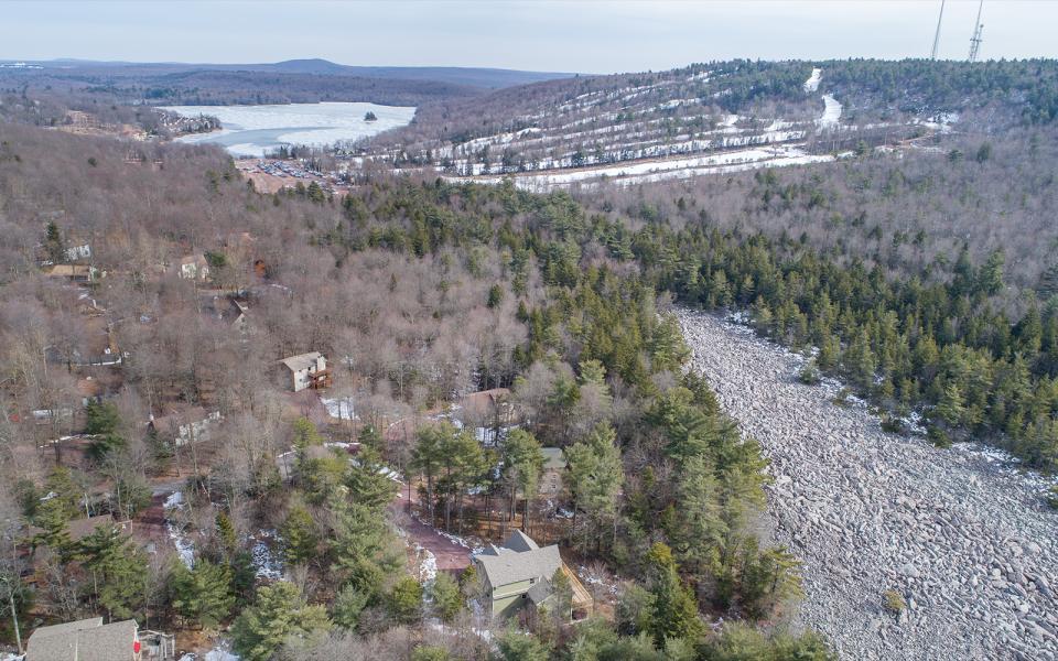 Drone Photo Pocono Mountains PA