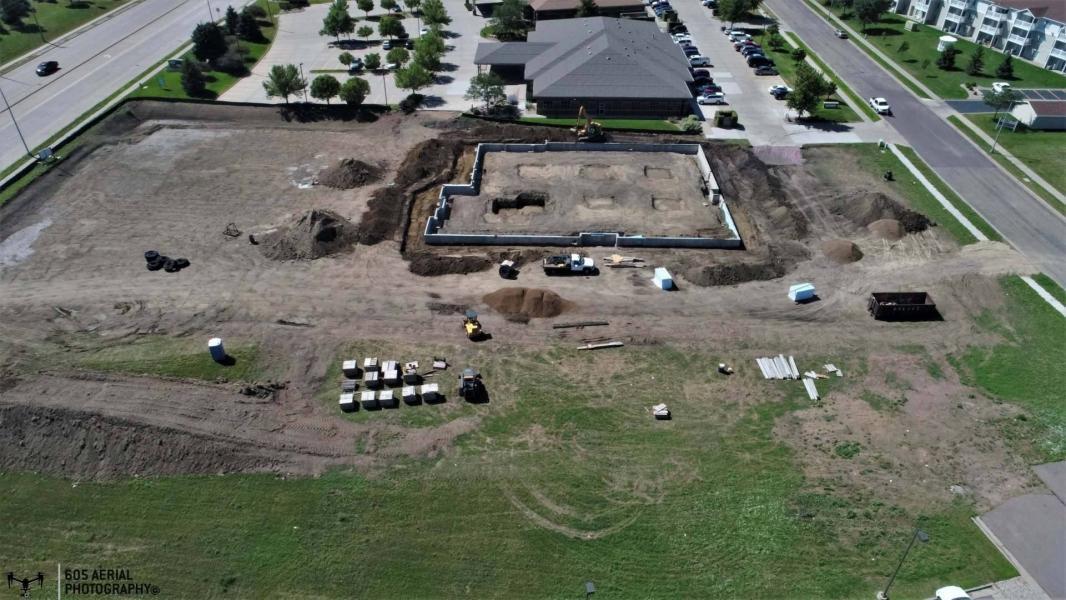 Drone Photo Sioux Falls SD