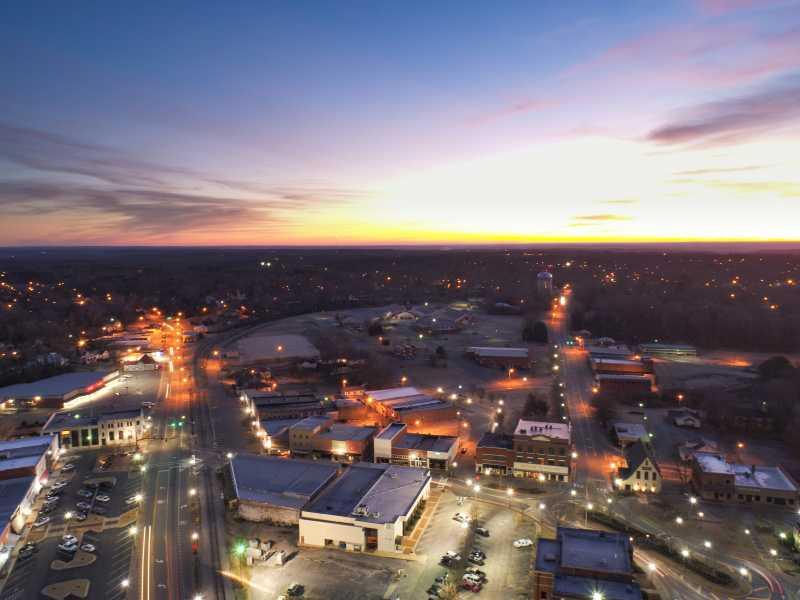 Drone Photo Alexander City AL