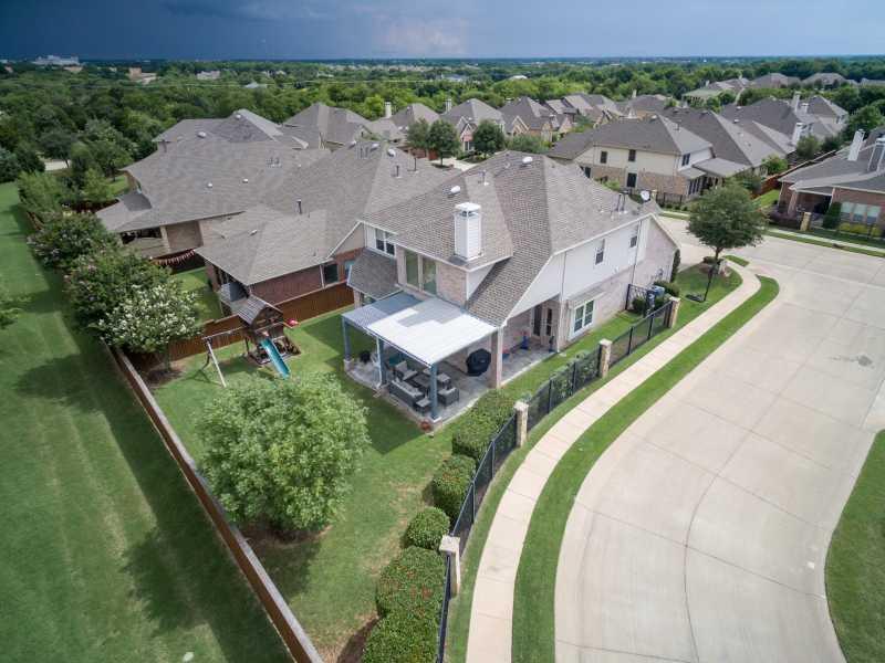 Drone Photo Allen TX