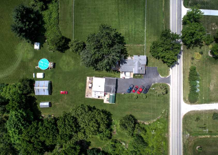 Drone Photo Almont MI