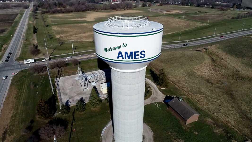 Drone Photo Ames IA