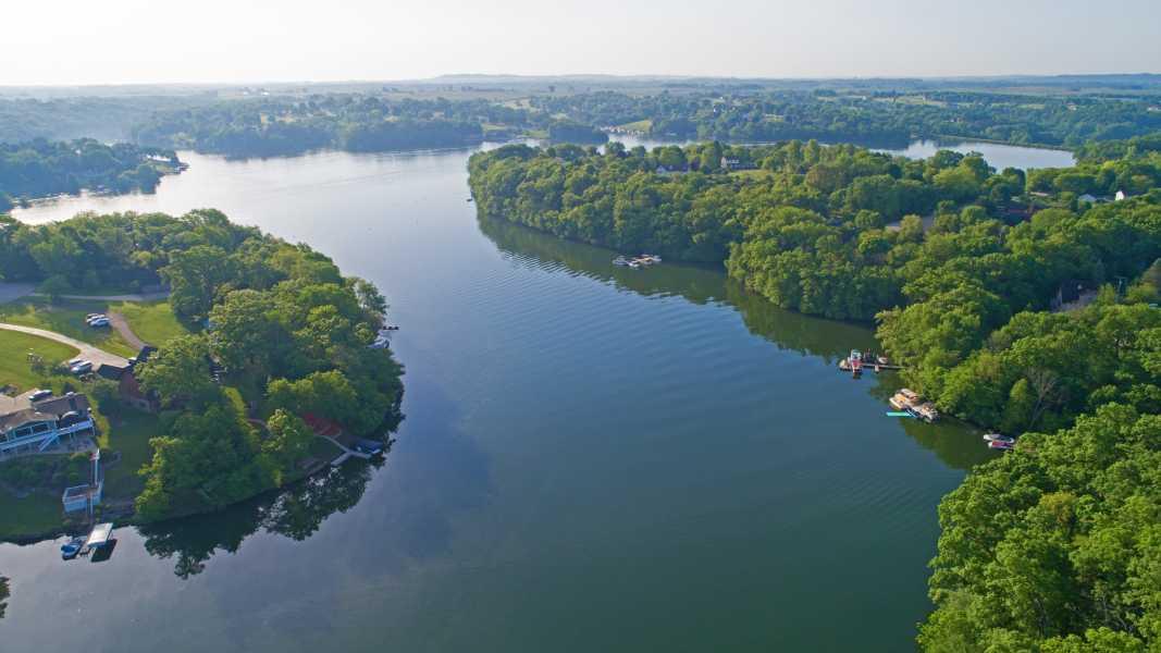 Drone Photo Apple River IL