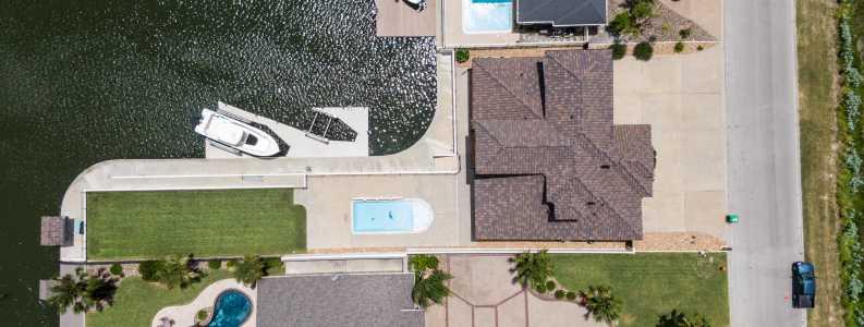 Drone Photo Aransas Pass TX