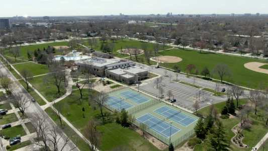 Drone Photo Arlington Heights IL