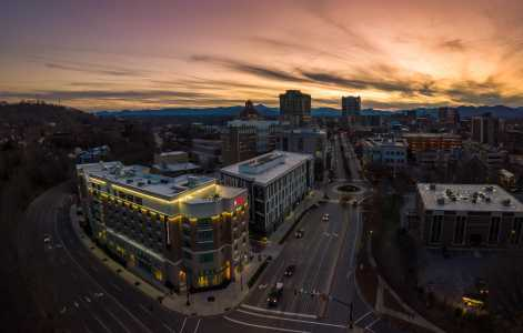 Drone Photo Asheville NC