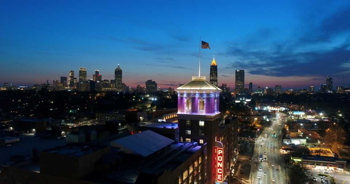 Drone Photo Atlanta GA