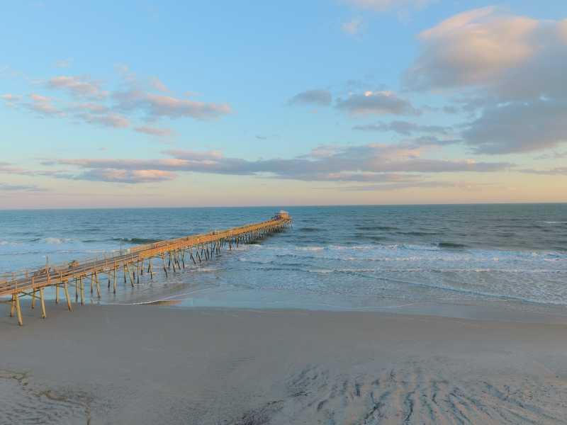 Drone Photo Atlantic Beach NC