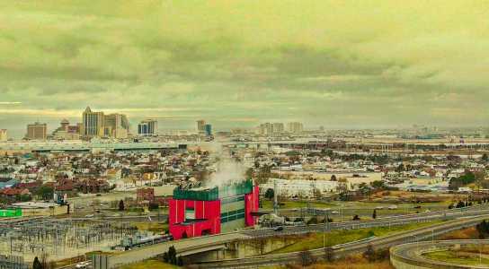 Drone Photo Atlantic City NJ