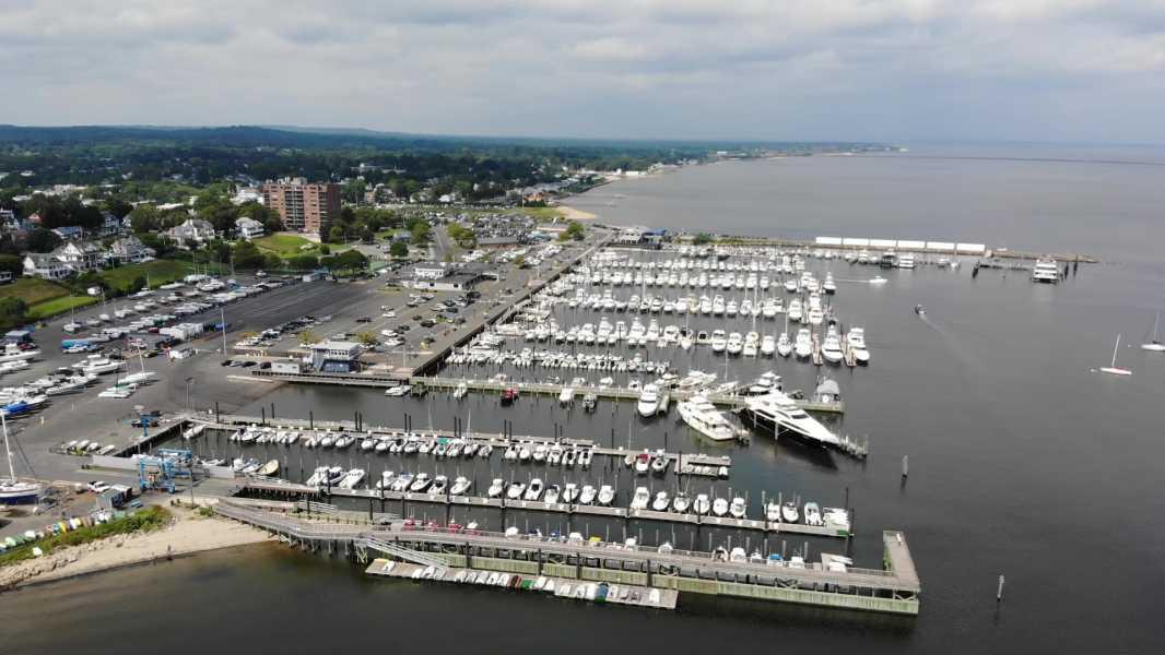 Drone Photo Atlantic Highlands NJ