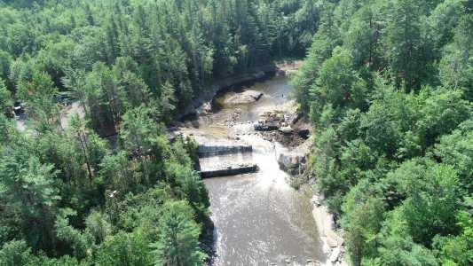 Drone Photo Au Sable Forks NY