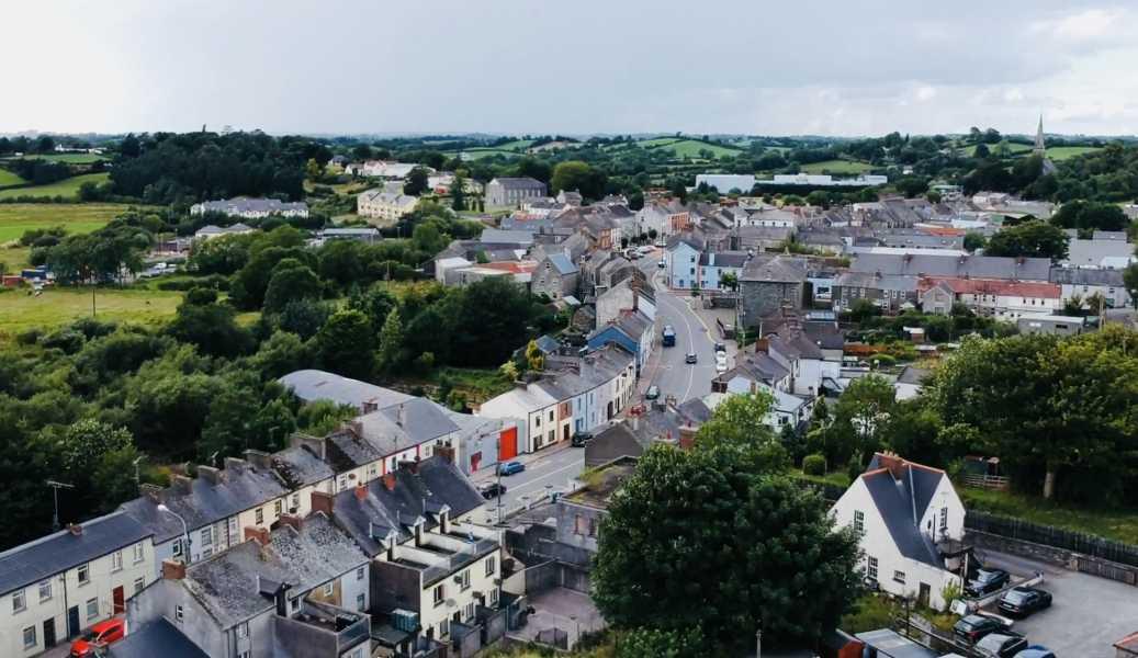 Drone Photo Ballybay Co