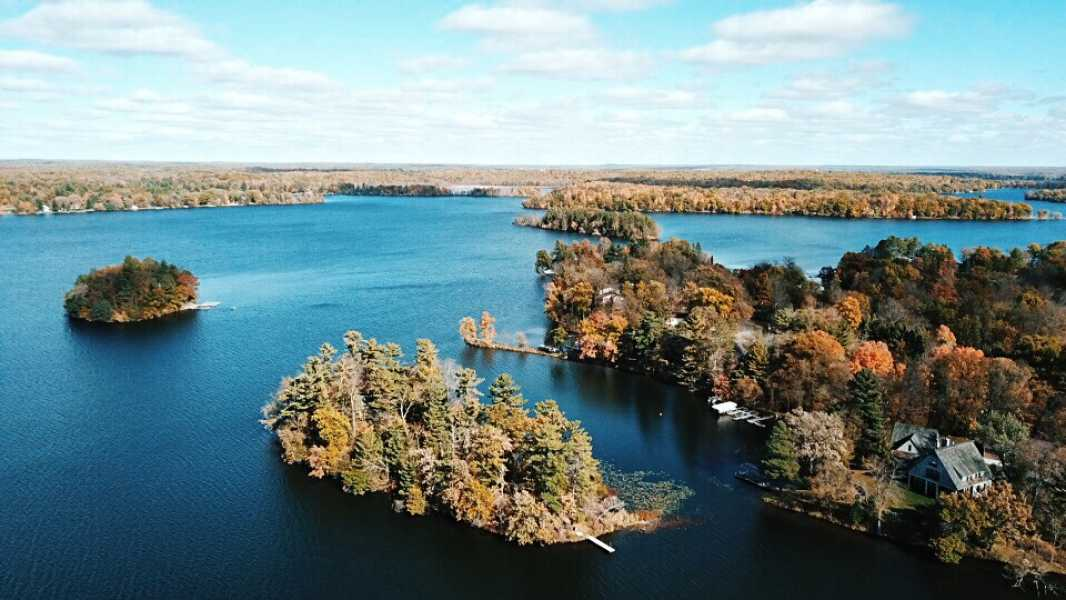 Drone Photo Balsam Lake WI