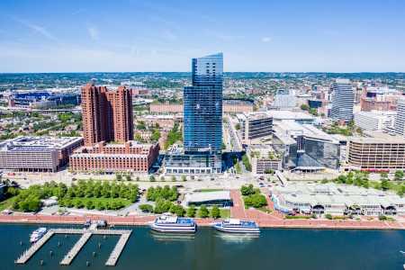 Drone Photo Baltimore MD