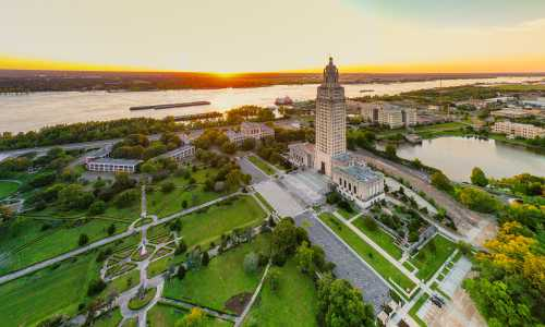 Drone Photo Baton Rouge LA