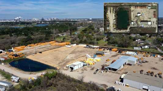 Drone Photo Baytown TX