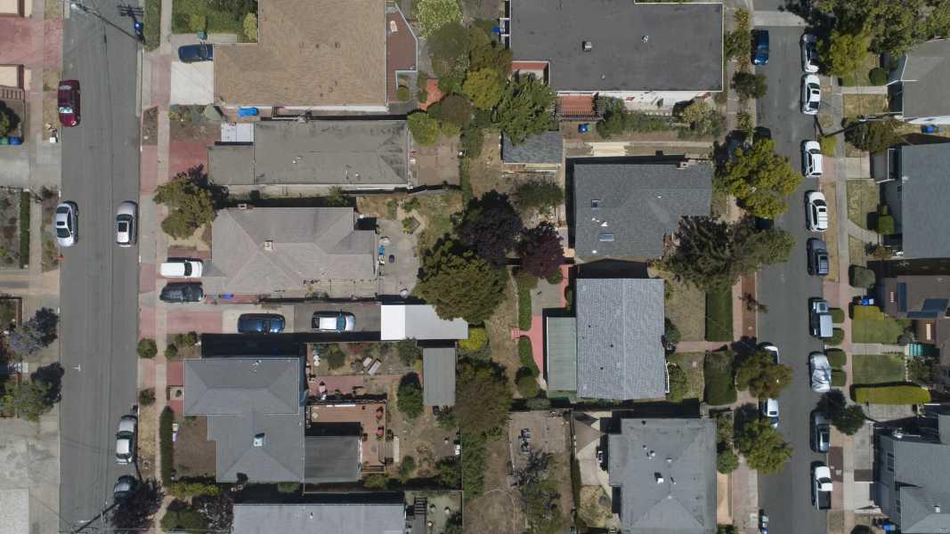 Drone Photo Berkeley CA
