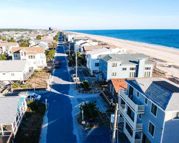 Drone Photo Bethany Beach DE