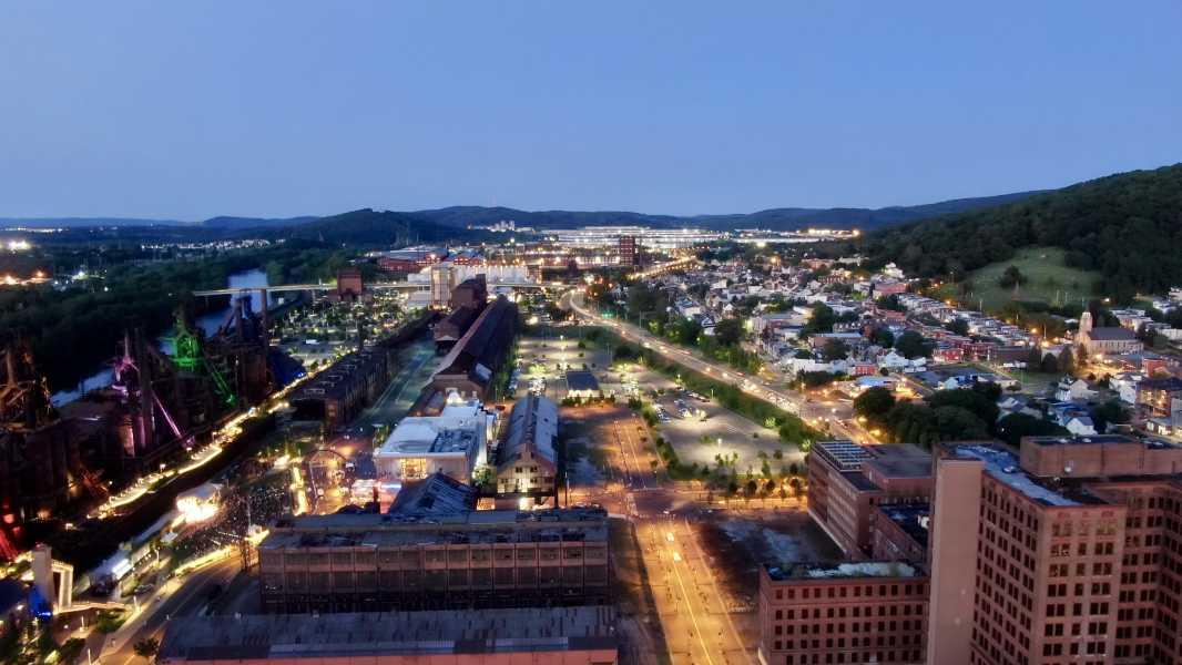 Drone Photo Bethlehem PA