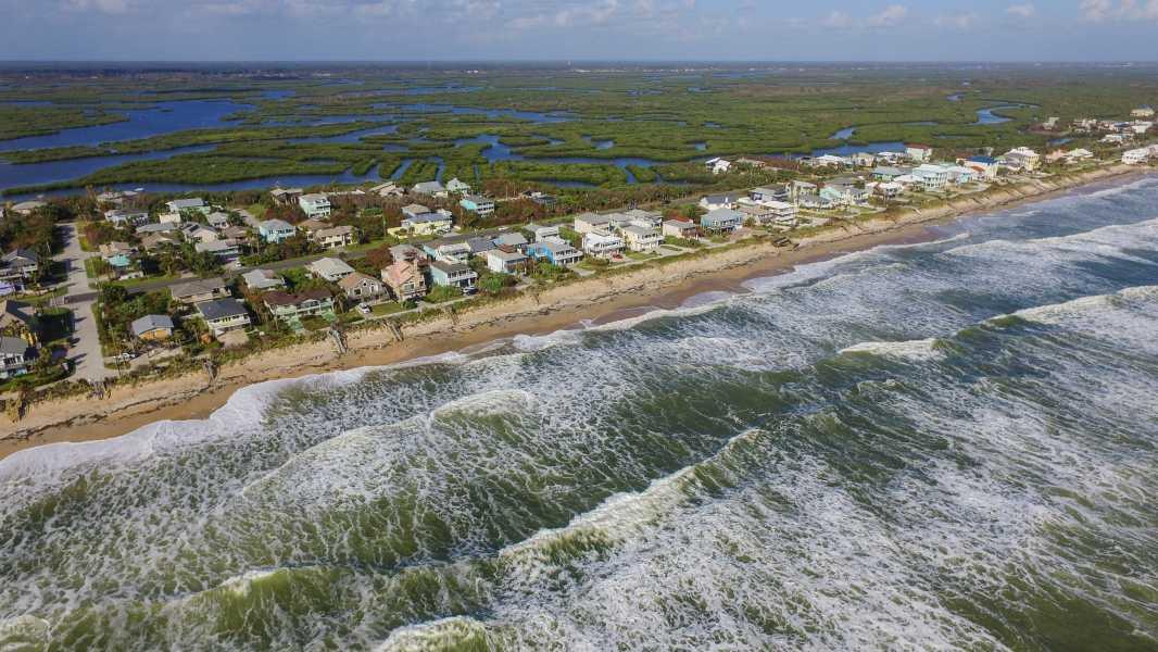 Drone Photo Bethune Beach FL
