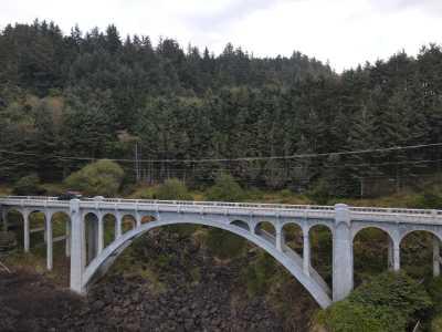 Drone Photo Big Sur CA