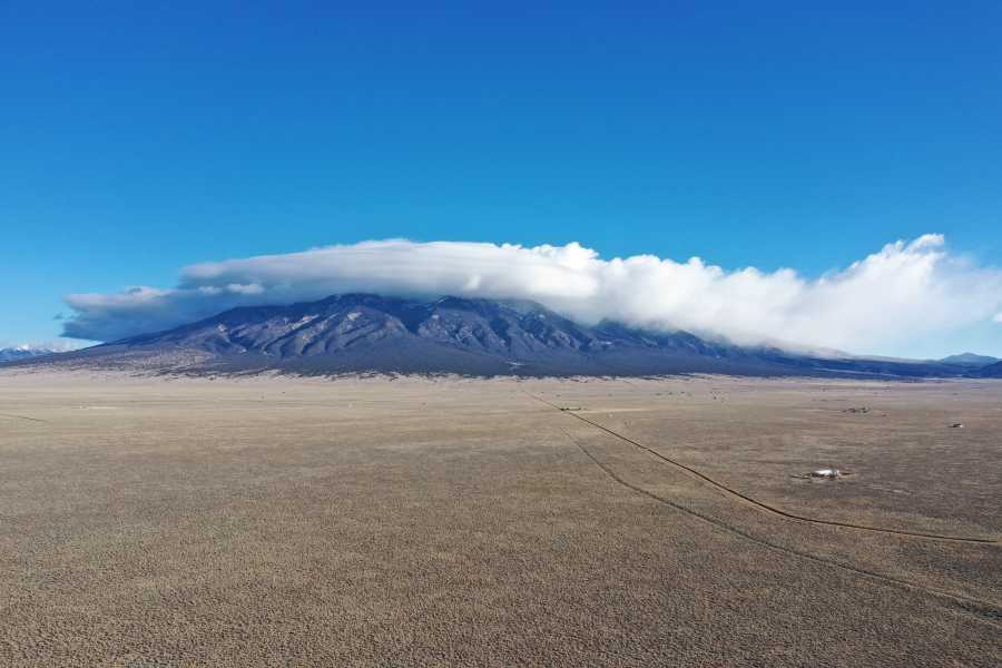 Drone Photo Blanca Peak Co