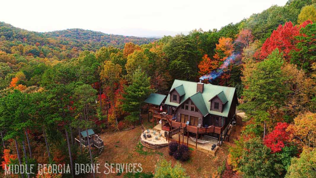 Drone Photo Blue Ridge GA