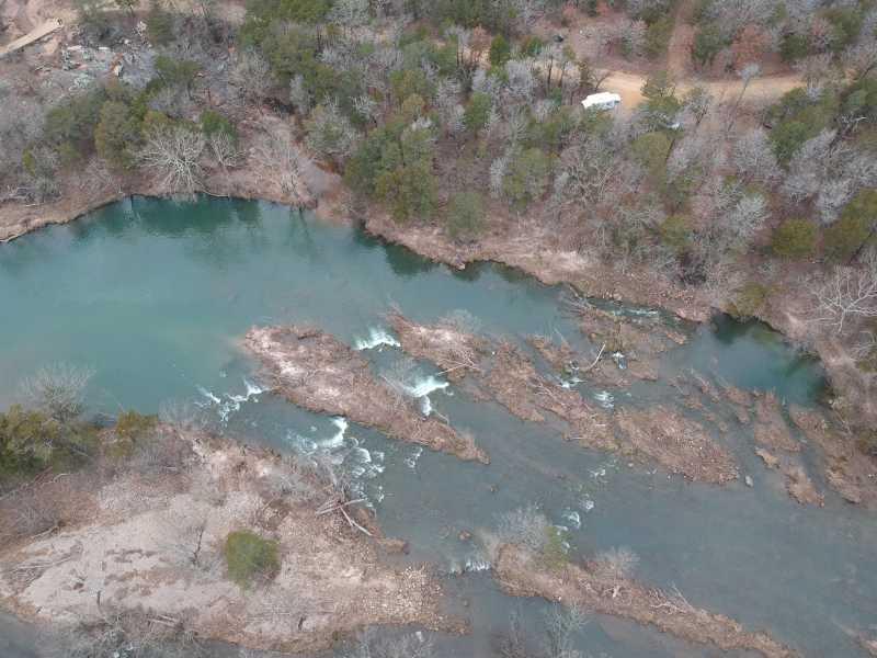 Drone Photo Blue River Ok