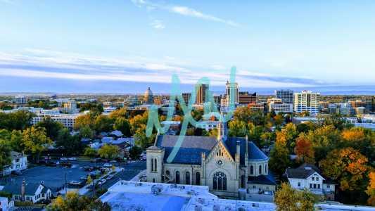 Drone Photo Boise ID