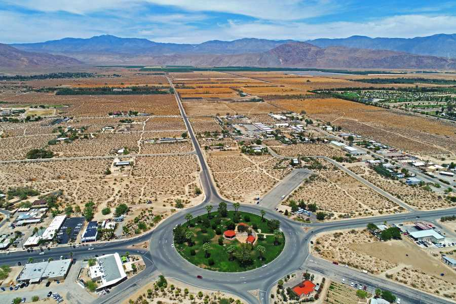 Drone Photo Borrego Springs CA
