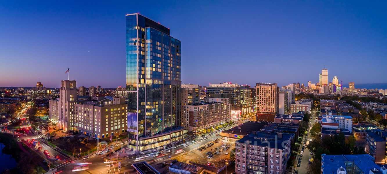 Drone Photo Boston MA