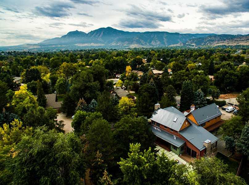 Drone Photo Boulder CO