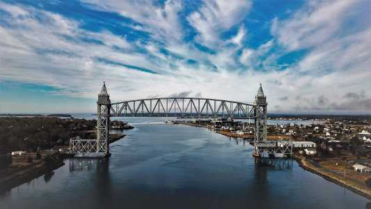 Drone Photo Bourne MA