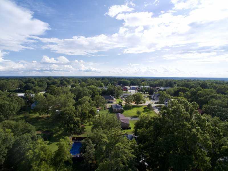 Drone Photo Bowman GA